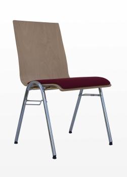 Stahlstuhl Modell 22 mit Sitzschale Paul