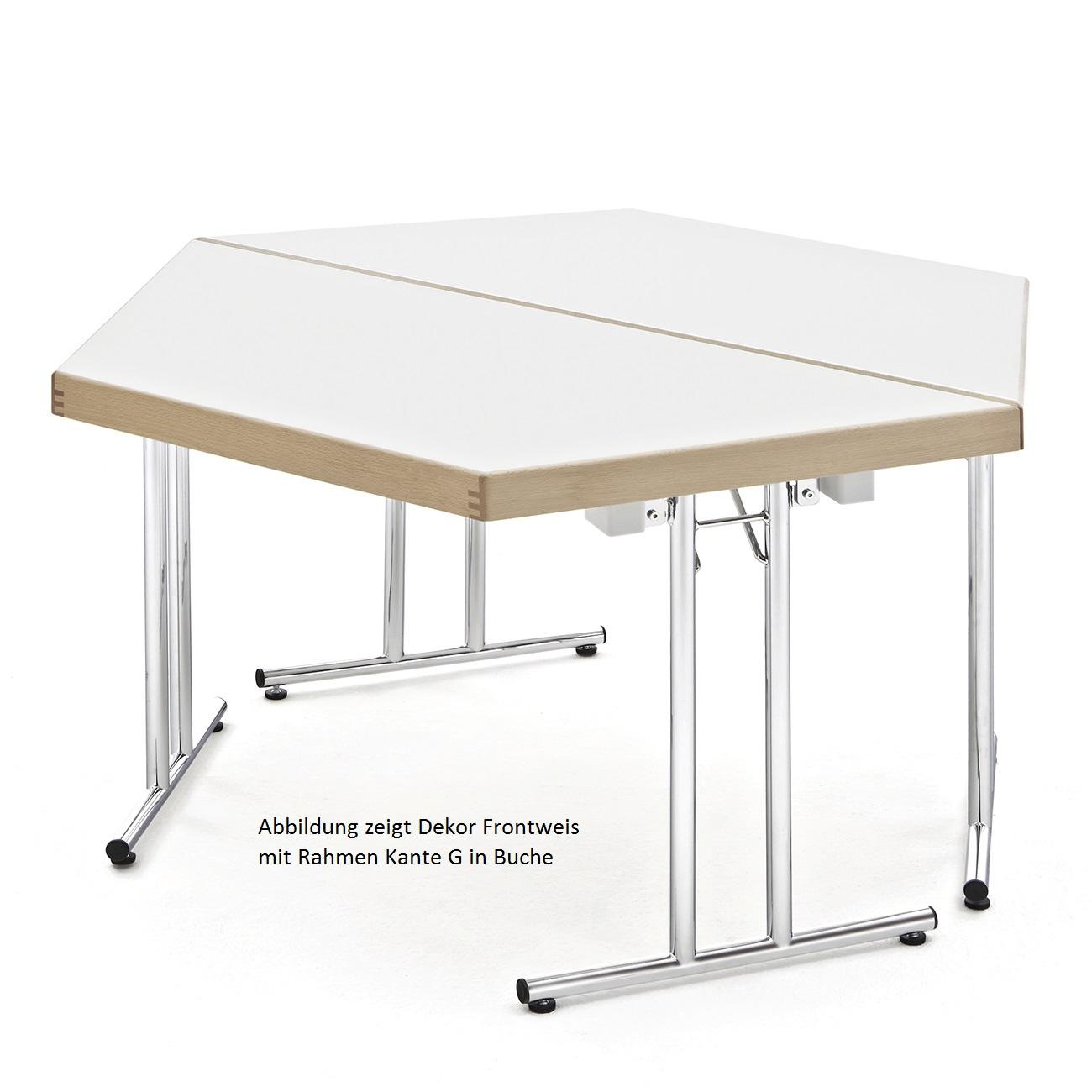 Roki Objekteinrichtungen - Trapeztisch, Klapptischgestell Modell MEN ...
