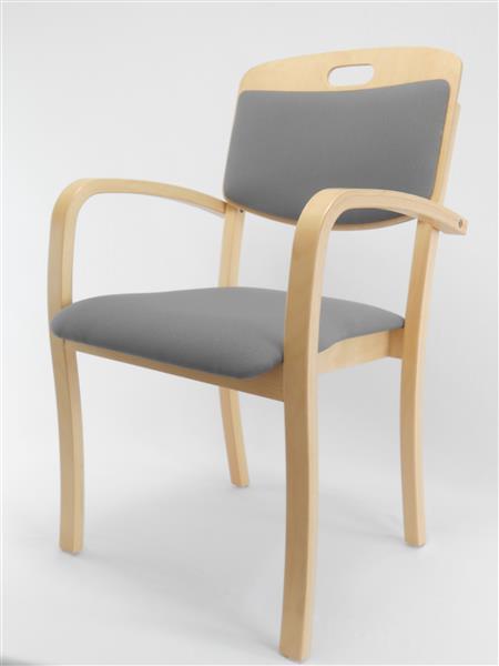 roki objekteinrichtungen besucherstuhl schichtholz stapelstuhl tina3 mit griffloch in der. Black Bedroom Furniture Sets. Home Design Ideas